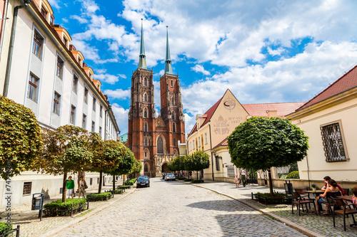 Zdjęcia na płótnie, fototapety na wymiar, obrazy na ścianę : Cathedral St. John in Wroclaw
