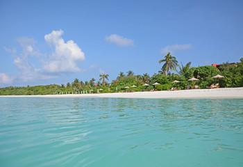 Hanimaadhoo Island, Malediven