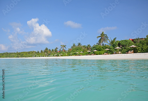 Papiers peints Autre Hanimaadhoo Island, Malediven