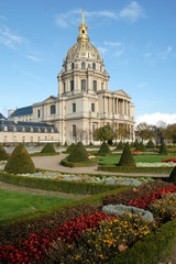 Les Invalides is a complex of museums and tomb in Paris