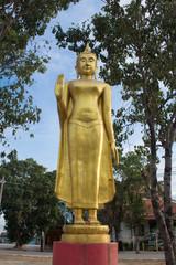 Buddha statue at Wat Lard Sai, Wangnoi, Ayutthaya