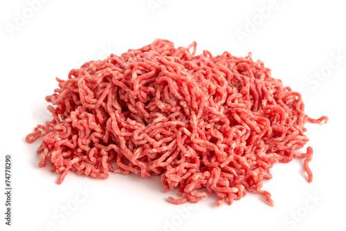 Leinwandbild Motiv Rinderhackfleisch