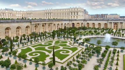 The Palace of Versailles and Garden, Paris in France