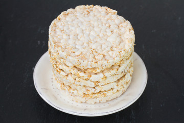 rice cake in dish