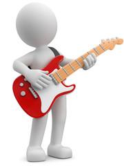 3d männchen mit Gitarre