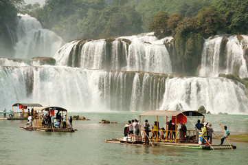 Datian waterfall in China.