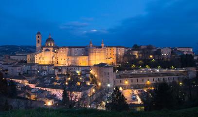 Urbino di sera