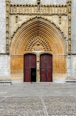 Porte entrée église