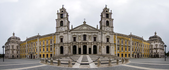 National Palace of Mafra landmark, Portugal.