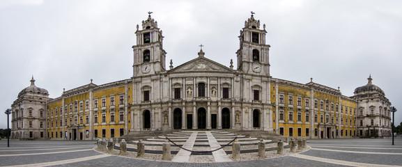 National Palace of Mafra landmark, Portugal.