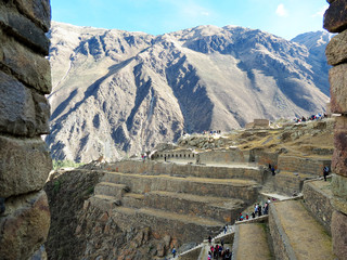 Pérou, Ruines d'Ollantaytambo