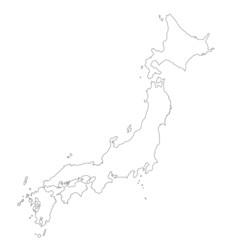 Japan in weiß