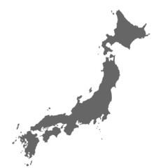 Japan in grau