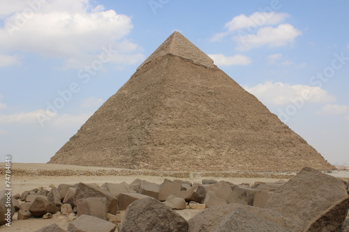 Foto op Aluminium Egypte Great Pyramid of Egypt