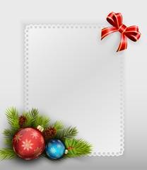 paper christmas tree light