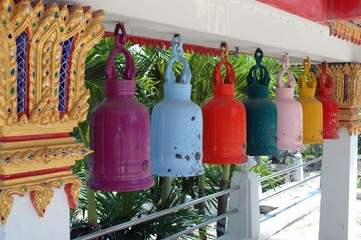 Temple bells in Thailand