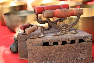 Iron old vintage - for sale