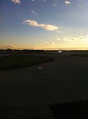 en piste et en cours de decollage