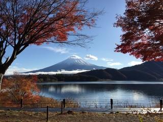 Fuji Mount in Autumn