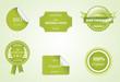 Eco labels. Eco friendly. Vector illustration.