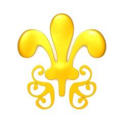 Royalty Symbol 3d illustration