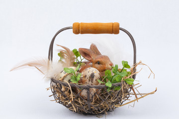 Cute little easter nest