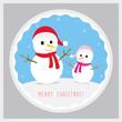 Merry Christmas greeting card53