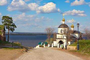 Church of St Constantine and Helena. Sviyazhsk island