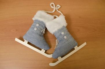 Christmas decorations skates