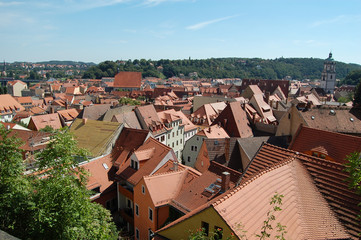The roofs of Nuremberg