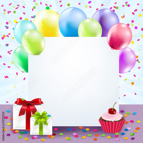 Colorful Birthday Card Buy Photos Ap Images Detailview