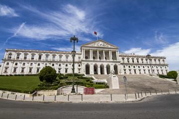 monumental Portuguese Parliament