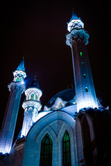Kul Sharif mosque in Kazan Kremlin.   Kazan. Russia.