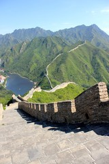 great depth of the great wall