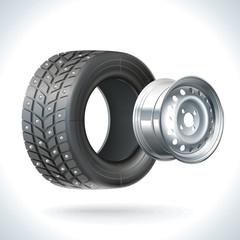 Car Tire Winter