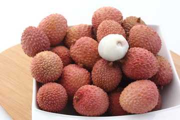 Fruits litchis