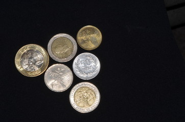 Coins of Colombia: colombian peso