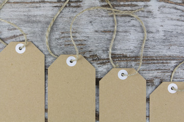 Tags for packaging