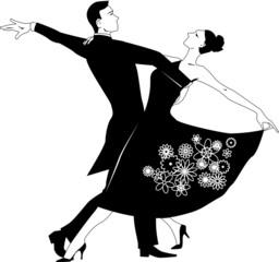 Waltz clip-art