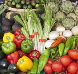 Verduras frescas.Saint Rémy de Provence.
