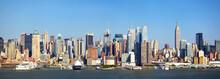 壁紙(ウォールミューラル) - Manhattan skyline panorama over Hudson River, New York