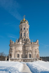 "Church of Icon of Mother of God ""The Sign"" near Moscow"
