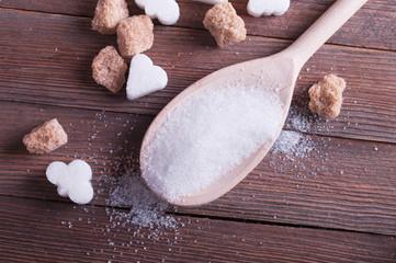 sugar close-up