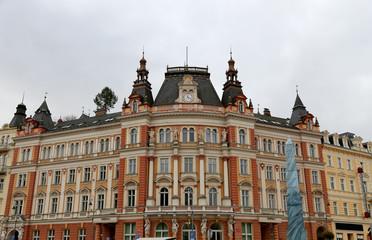 Karlovy Vary (Carlsbad) in Czech Republic