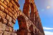 Obrazy na płótnie, fototapety, zdjęcia, fotoobrazy drukowane : Aqueduct of Segovia, in Spain