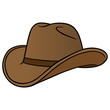 Cowboy Hat Cartoon - 74802046