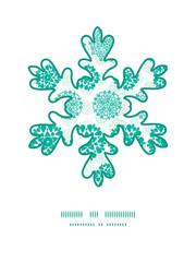 Vector abstract green decorative circles stars striped Christmas