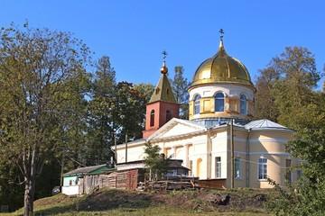 Село Орлино Спасо-Преображенский православный храм