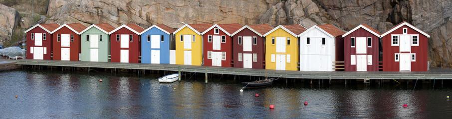Boat house in Smogen