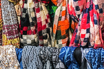 Multicolored wool Neckwear 2